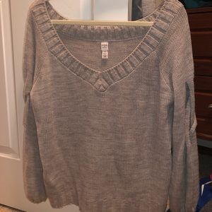 Loose fitting warm sweater
